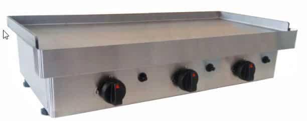 Plancha de cocina industrial a gas butano. Lo mejor para no tener problemas con el gas es comprar una plancha electrica cocina.